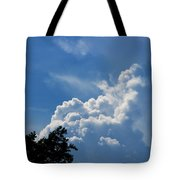 Clouds Of Art Tote Bag