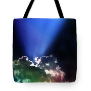 Clouds Of Faith Tote Bag