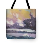Clouds Of Mt Hood Tote Bag