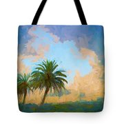 Clouds On The Loop Tote Bag
