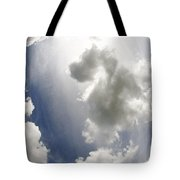 Clouds On The Sky Tote Bag