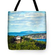 Clouds Over Acadia Tote Bag