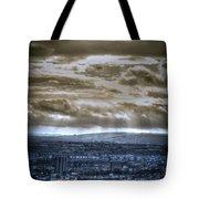 Clouds Over Bristol Hdr Split Toning Tote Bag