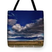 Clouds Over California Tote Bag