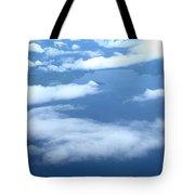Clouds Over Costa Rica Tote Bag