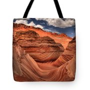 Clouds Over Coyote Buttes North Tote Bag