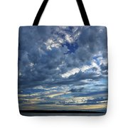 Clouds Over English Bay From Sunset Beach Vancouver Tote Bag