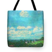 Clouds Over Fairlawn Tote Bag