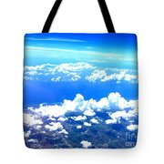 Clouds Over Florida Tote Bag