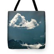 Clouds Over Glacier, Banff Np Tote Bag