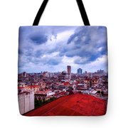 Clouds Over Havana Tote Bag