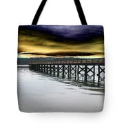 Clouds Over Illahee Tote Bag