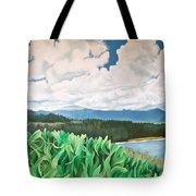 Clouds Over Kauai Tote Bag