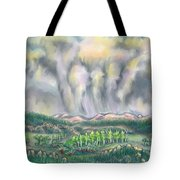 Clouds Over Medicine Bow Peak Tote Bag