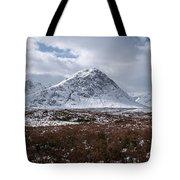 Clouds Over Mountains, Glencoe, Scotland Tote Bag