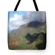 Clouds Over Napali II Tote Bag