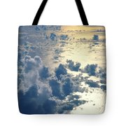 Clouds Over Ocean Tote Bag by Ed Robinson - Printscapes