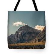 Clouds Over Red Rock Canyon Tote Bag