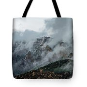 Clouds Over Sandia Tote Bag