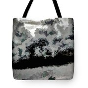 Clouds Over St Thomas At Dusk 1 Tote Bag