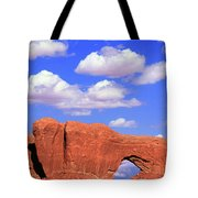 Clouds Over The Arches Tote Bag