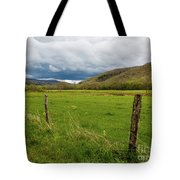 Clouds Over The Hills Tote Bag