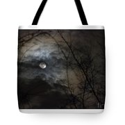 Clouds Over The Moon Tote Bag