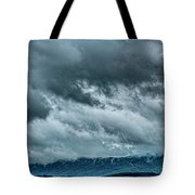 Clouds Over The Mountans 1329tmt Tote Bag