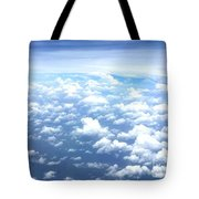 Clouds Over The Ocean Tote Bag