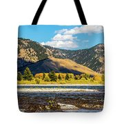 Clouds Over The Teton Foothills Tote Bag