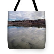 Clouds Reflect Tote Bag