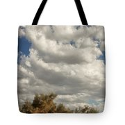 Clouds Rising Palm Springs Tote Bag