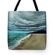 Clouds Rolling In Tote Bag