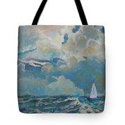 Clouds Sails Tote Bag