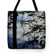 Clouds Tree Water Tote Bag