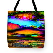 Clouds With Attitude Tote Bag