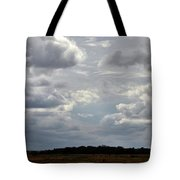 Cloudy Day At Dinenr Island Ranch Tote Bag