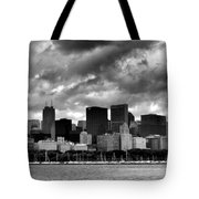 Cloudy Day Chicago - 2 Tote Bag