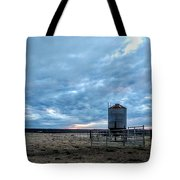 Cloudy Day On The Ranch Tote Bag