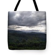 Cloudy Environment  Tote Bag
