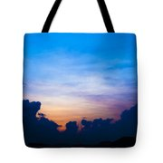 Cloudy Hedges Tote Bag