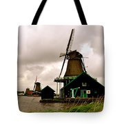 Cloudy Holland Tote Bag