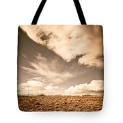 Cloudy Plain Tote Bag
