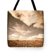 Cloudy Plain Tote Bag