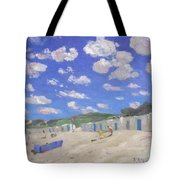 Clouds Above The Sunny Beach Tote Bag