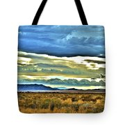 Cloudy Sunday Drive Tote Bag