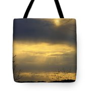 Cloudy Sunrise 4 Tote Bag