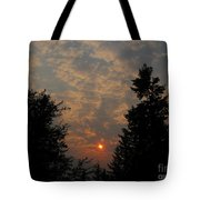 Cloudy Sunset Tote Bag
