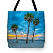 Cloudy Sunset -tampa, Florida Tote Bag