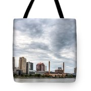 Glass Cloud Tote Bag